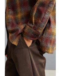Pendleton - Brown Original Board Flannel Button-down Shirt for Men - Lyst