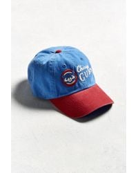 fdf46eaa91dc1 Lyst - American Needle Dyer Chicago Cubs Baseball Hat in Blue for Men