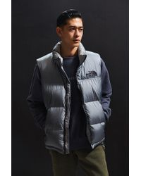 6a631aafc44a Lyst - The North Face X Uo Nuptse Vest in Blue for Men