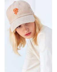 American Needle | Natural Corduroy Micro Variant Baseball Hat | Lyst