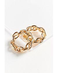 Urban Outfitters - Metallic Chunky Bracelet Set - Lyst