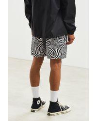 BDG - Black Printed Denim Volley Short for Men - Lyst