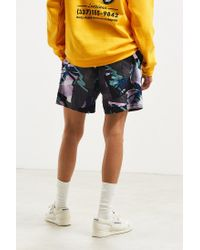 BDG - Purple Printed Denim Volley Short for Men - Lyst