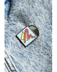 Urban Outfitters | Blue Uo Vinyl Moveable Pin | Lyst