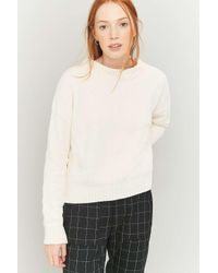 Urban Outfitters | White Urban Outfitters Chenille Pullover Jumper | Lyst
