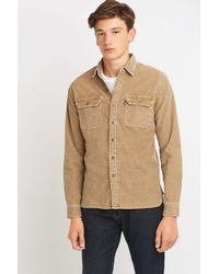Levi's - Blue Corduroy 2-pocket Work Shirt for Men - Lyst