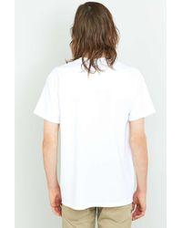 Urban Outfitters - Uo White Oversized Skate T-shirt for Men - Lyst
