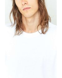 Urban Outfitters - Uo White Oversized Skate T-shirt for Men - Lyst