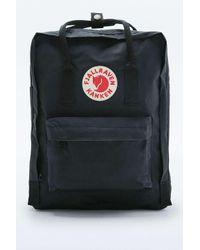 Fjallraven | Kanken Classic Black Backpack for Men | Lyst
