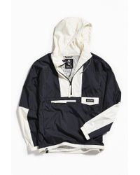 Columbia - Black Columbia River Hooded Anorak Jacket for Men - Lyst