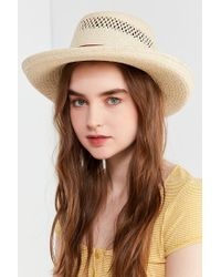 Urban Outfitters - Multicolor Telescope Straw Boater Hat - Lyst
