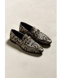 Urban Outfitters - Black Uo Brocade Loafer for Men - Lyst