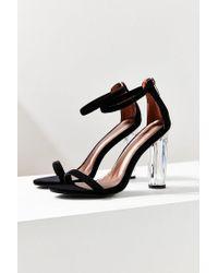 Urban Outfitters - Black Mimi Velvet Heel - Lyst