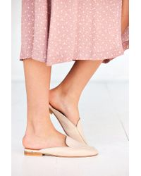 Urban Outfitters | White Driving Loafer Mule | Lyst