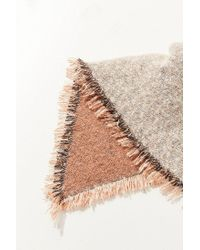 Urban Outfitters - Multicolor Cozy Intarsia Blanket Scarf - Lyst