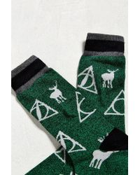 Urban Outfitters - Green Harry Potter Snape Sock for Men - Lyst