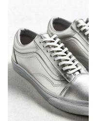 Vans - Vans Old Skool Silver Metallic Sneaker - Lyst
