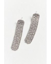 Urban Outfitters - Metallic Crystal Palace Rhinestone Statement Earring - Lyst