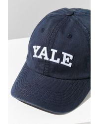 Urban Outfitters - Blue Yale Crew Baseball Hat - Lyst