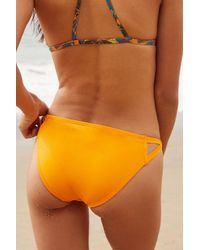 Out From Under - Orange Winnie Cross-strap Bikini Bottom - Lyst