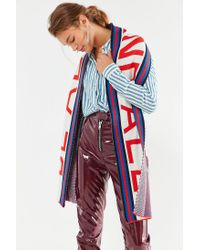 Urban Outfitters - Blue Uo Soccer Scarf - Lyst
