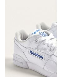 Reebok - Blue Workout Plus Trainers - Lyst