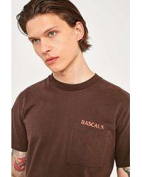 Rascals - Brown Pocket T-shirt - Mens M for Men - Lyst