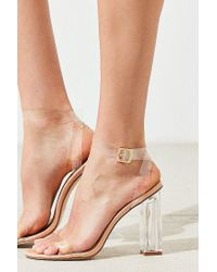 Urban Outfitters - Multicolor Clear Kim Heel - Lyst
