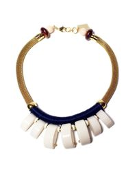 Lizzie Fortunato | Metallic Casa Azul Graphic Necklace | Lyst