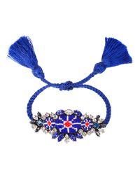 Shourouk | Multicolor Cobalt Bora Bracelet | Lyst