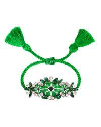 Shourouk | Green Bora Bracelet | Lyst