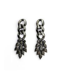 Iosselliani | Black Memento Earrings | Lyst