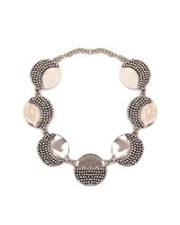 Anndra Neen | Multicolor Mirror And Pin Necklace | Lyst