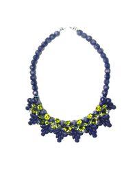 EK Thongprasert | Blue Peacoat Wandsworth Necklace | Lyst