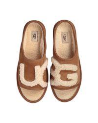 Ugg Brown Slide