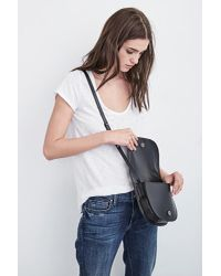 Velvet By Graham & Spencer - Black Montana Crossbody Bag - Lyst