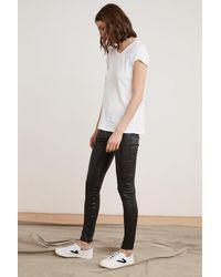 Velvet By Graham & Spencer - Black Berdine Faux Leather LEGGINGS - Lyst