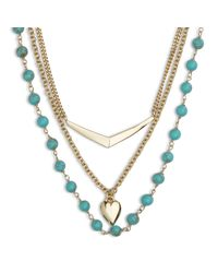 Vera Bradley | Metallic Stylist Necklace Set | Lyst