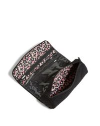 Vera Bradley - Black Iconic On A Roll Case - Lyst