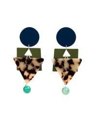 Veronica Beard - Blue Cleopatra Earrings Bianca Mavrick - Lyst