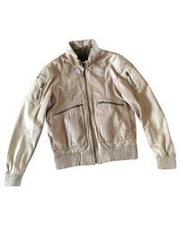 Roberto Cavalli - Natural Leather Jacket for Men - Lyst