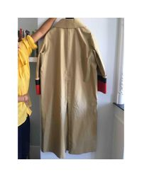 Burberry - Natural Long Trench Coat - Lyst