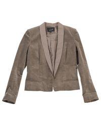 Isabel Marant - Natural Pre-owned Khaki Jacket - Lyst