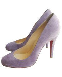Christian Louboutin - Purple Simple Pump Heels - Lyst