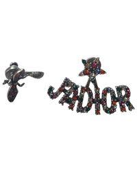 Dior - Metallic Pre-owned J'a Earrings - Lyst
