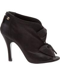 Chanel - Black Pre-owned Heels - Lyst