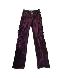 Dior - Purple Straight Pants - Lyst