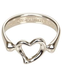 Tiffany & Co - Metallic Pre-owned Silver Metal Ring - Lyst
