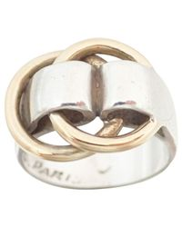 Hermès - Metallic Pre-owned Yellow Gold Ring - Lyst
