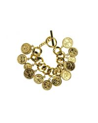 Chanel - Metallic Pre-owned Gold Metal Bracelet - Lyst
